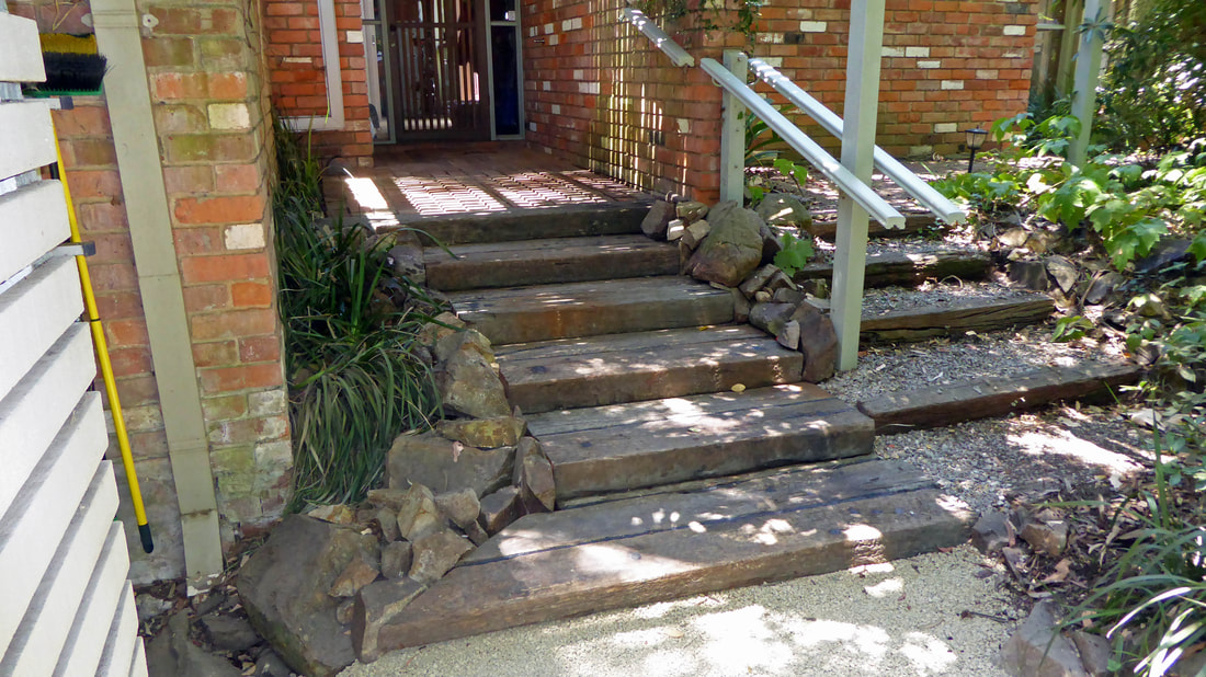 Bickleigh Vale, Abbotsley new front steps 9, Jan '19 - complete_2