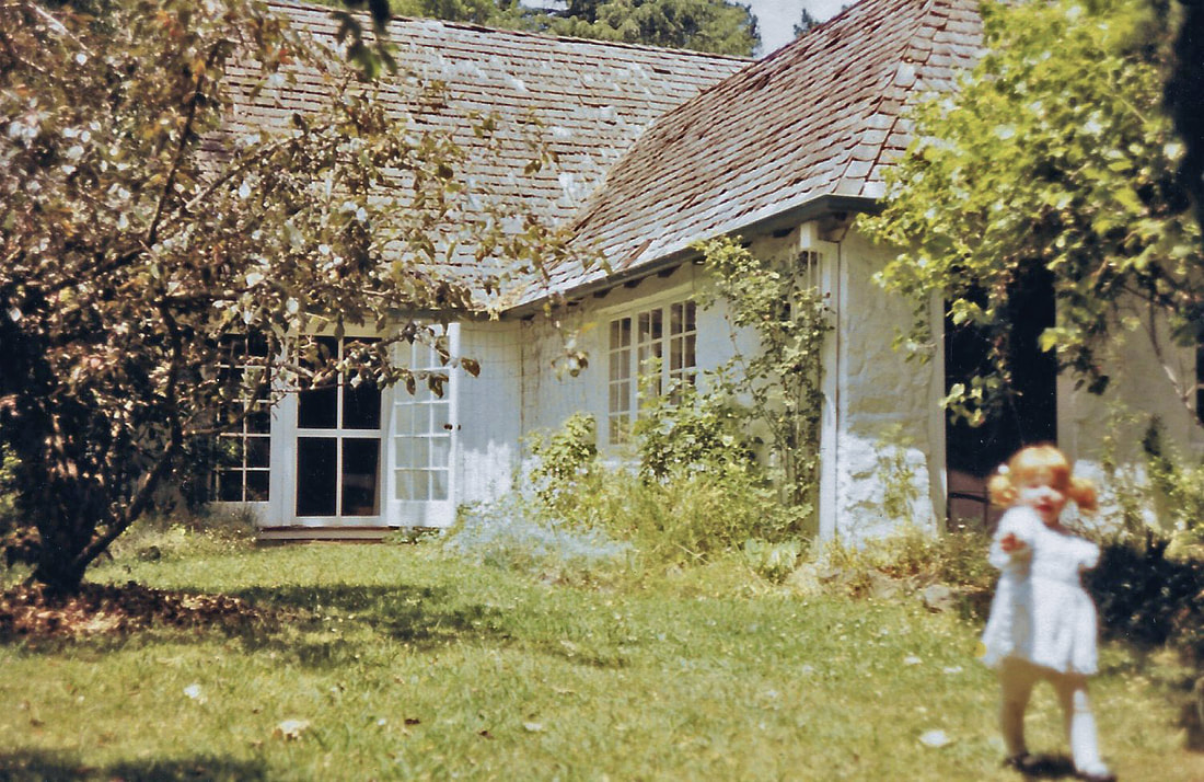 Bickleigh Vale, Lynton Lee, 1981 with old shingle roof