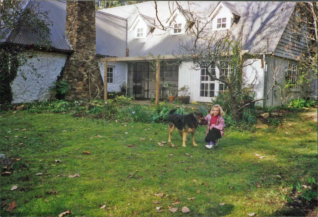 Bickleigh Vale, Lynton Lee with new colourbond roof and dormer windows, 1987